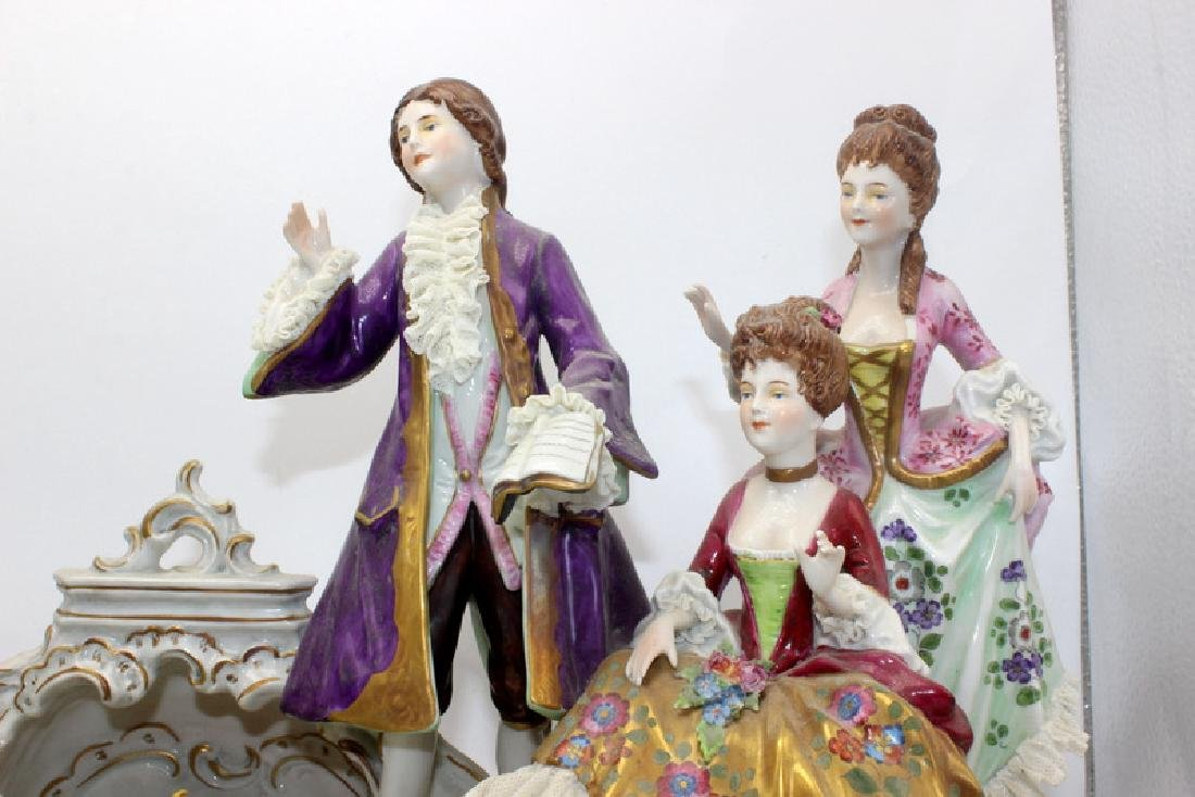 Dresden Porcelain Group - 2