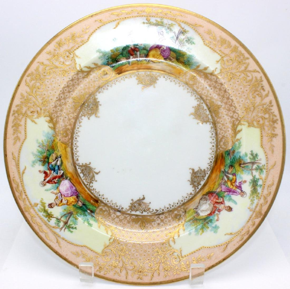 Pair of Dresden Plates