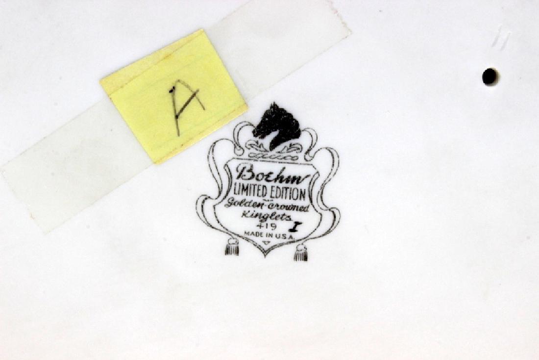 "Boehm #419 ""Golden-Crowned Kinglets"" - 2"