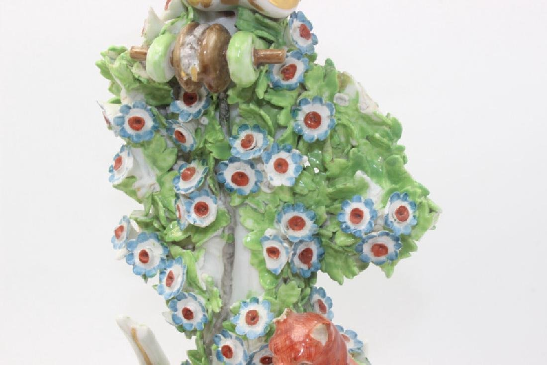 Staffordshire Candlestick Holders - 2