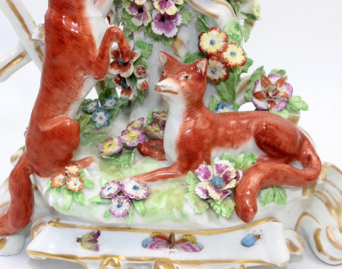 Staffordshire Candlestick Holders - 4