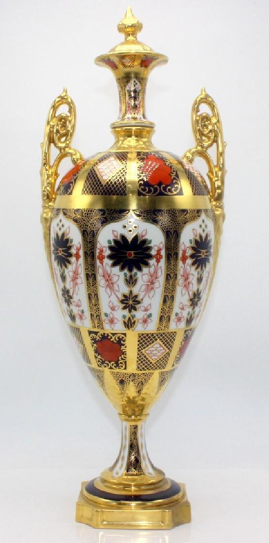 Royal Crown Derby 'Old Imari' Lidded Urn