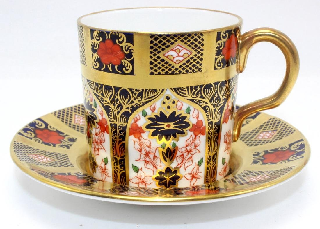 Royal Crown Derby 'Imari' (6) Cups & Saucers