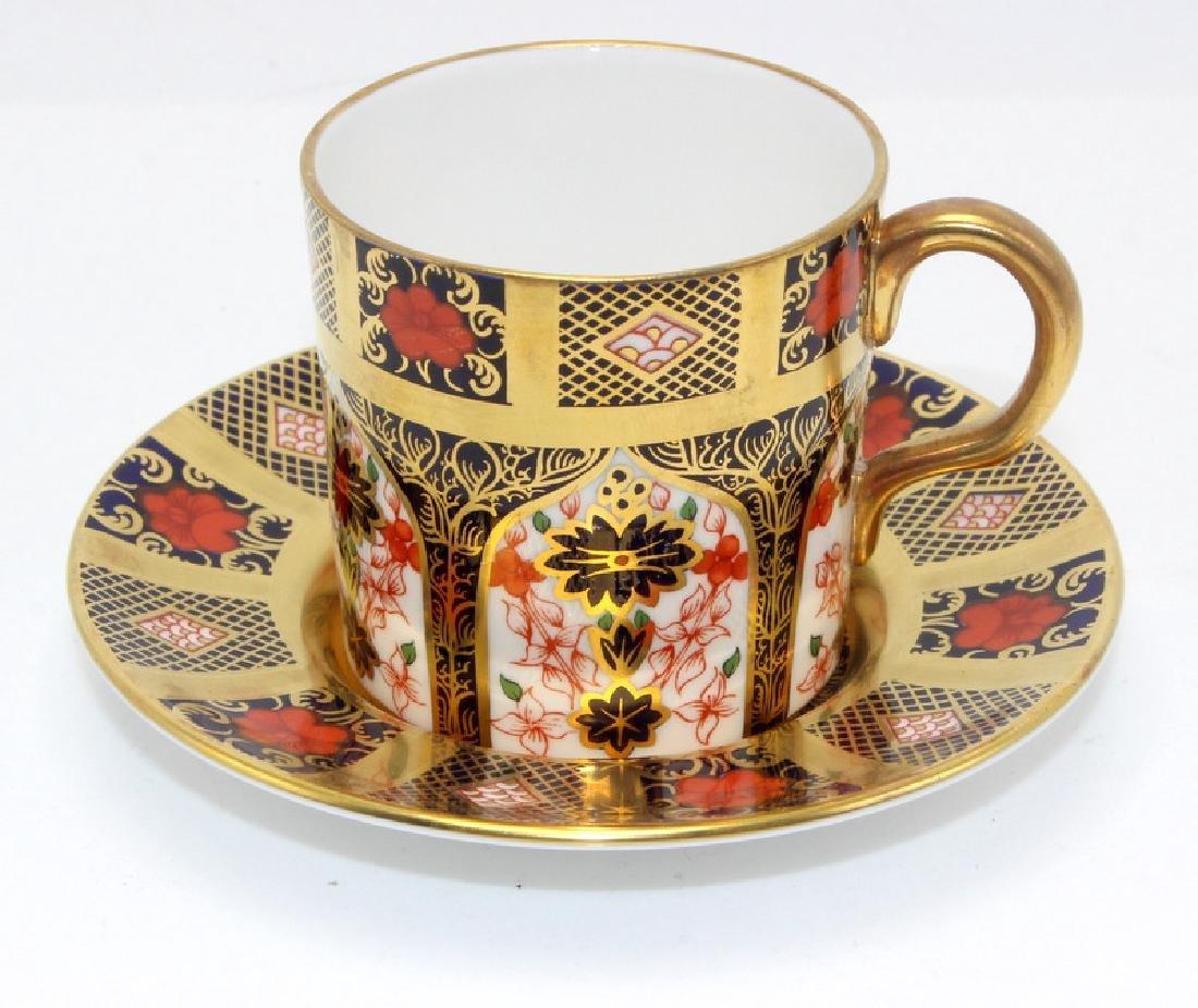 Royal Crown Derby 'Imari' (6) Cups & Saucers - 2