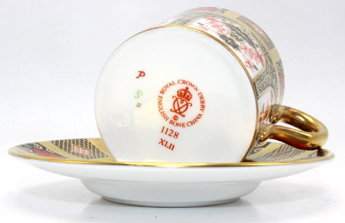 Royal Crown Derby 'Imari' (6) Cups & Saucers - 3