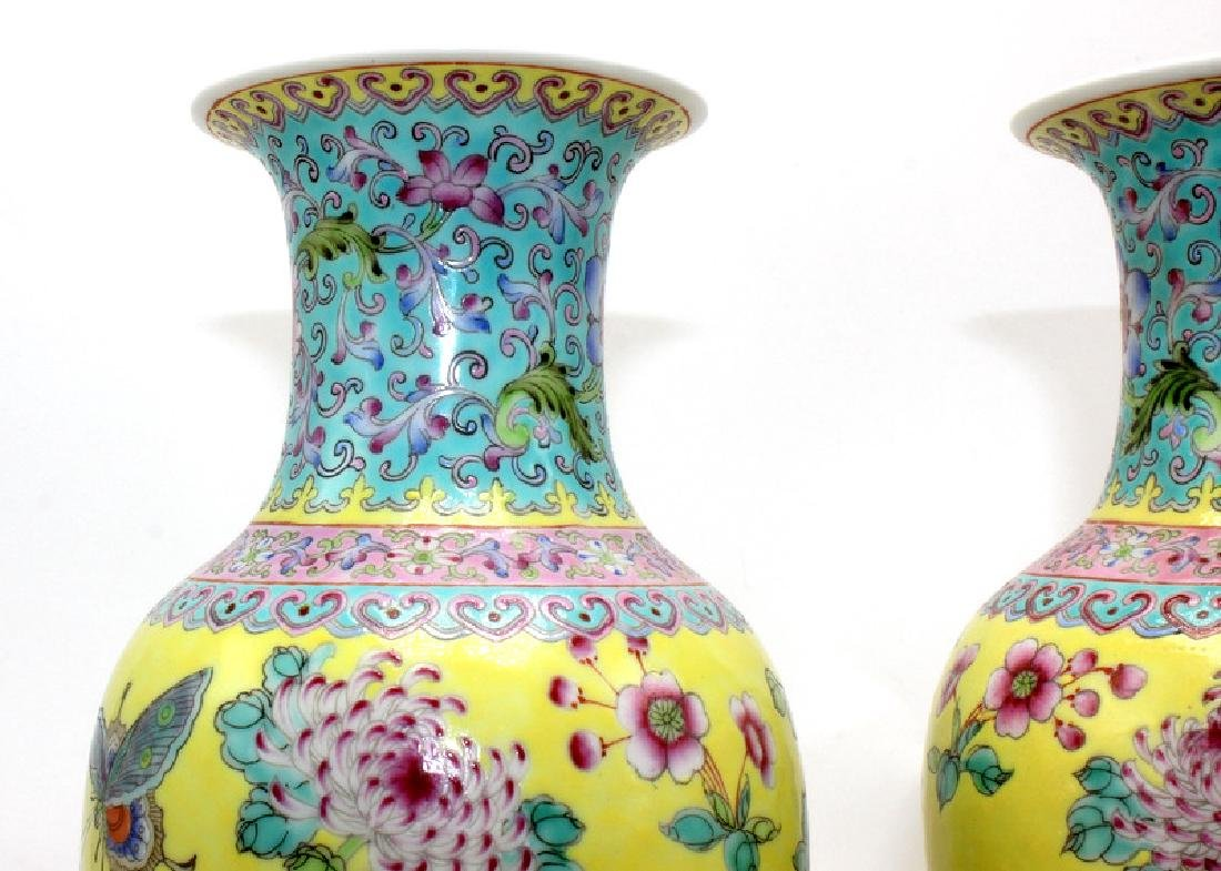 Pair of Chinese Porcelain Vases - 2