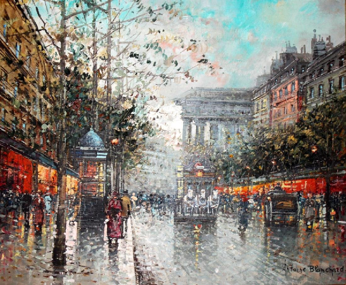 Antoine Blanchard (French, 1910-1988) Oil on Canvas