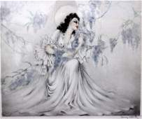 Louis Icart French b18801950 Wisteria Etching