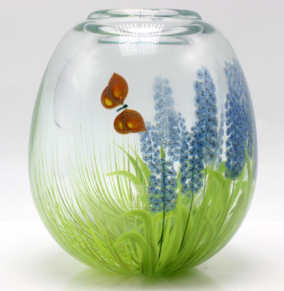 Mark Peiser Paperweight Vase