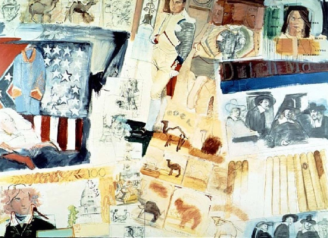 Larry Rivers (American, b.1923-2002) Golden Oldies 60's