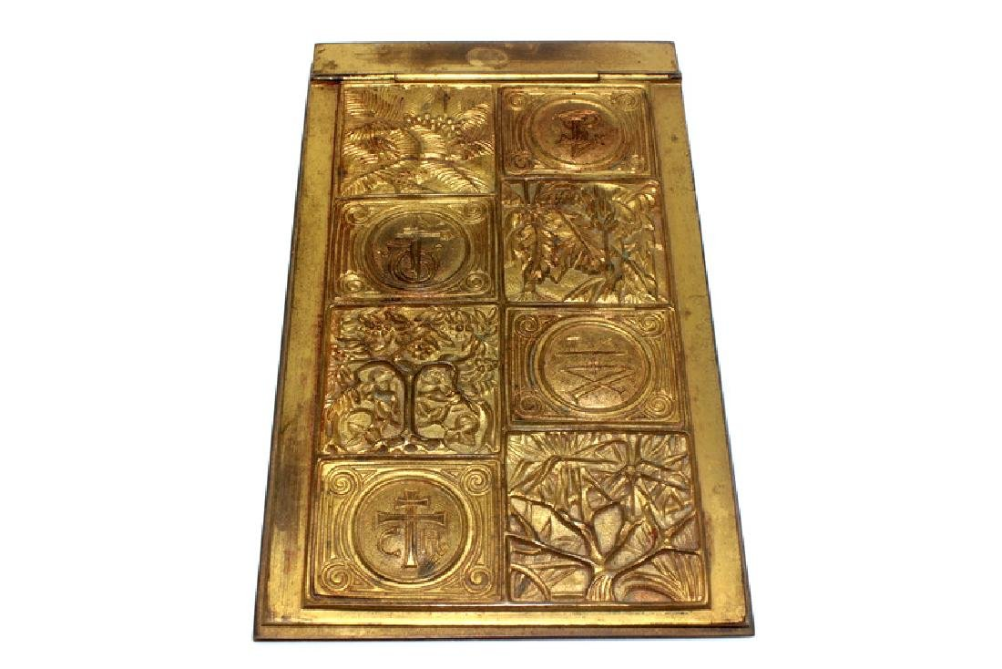 Tiffany Studios New York Bookmark Bronze Pad Holder