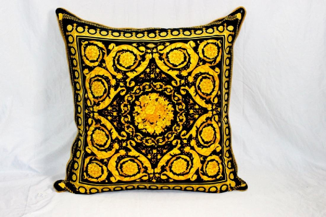 Gianni Versace Large Throw Pillow