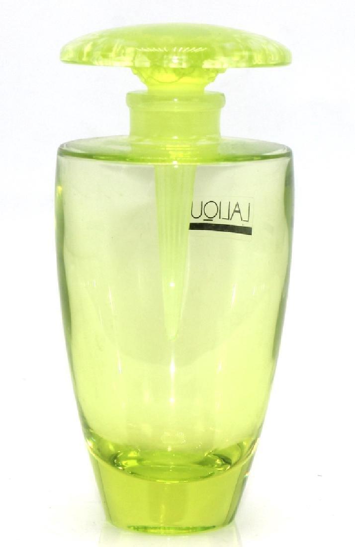 Lalique Green Perfume Bottle