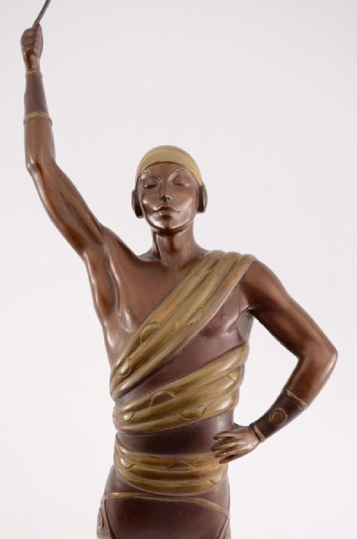 """Erte Bronze Sculpture """"Le Dansuer"""" - 2"""