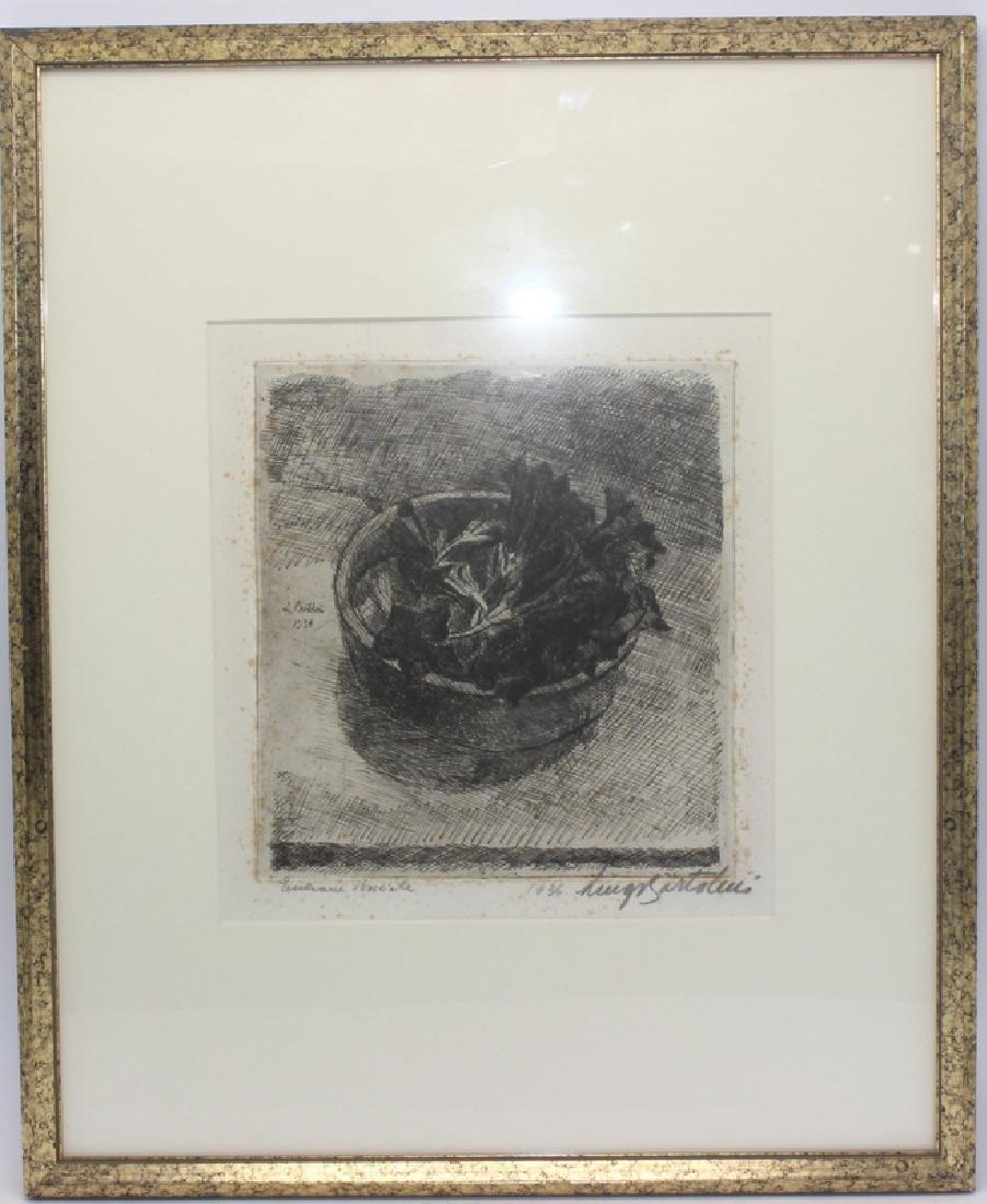 Luigi Bartolini (Italian b. 1892-1963) Etching - 2
