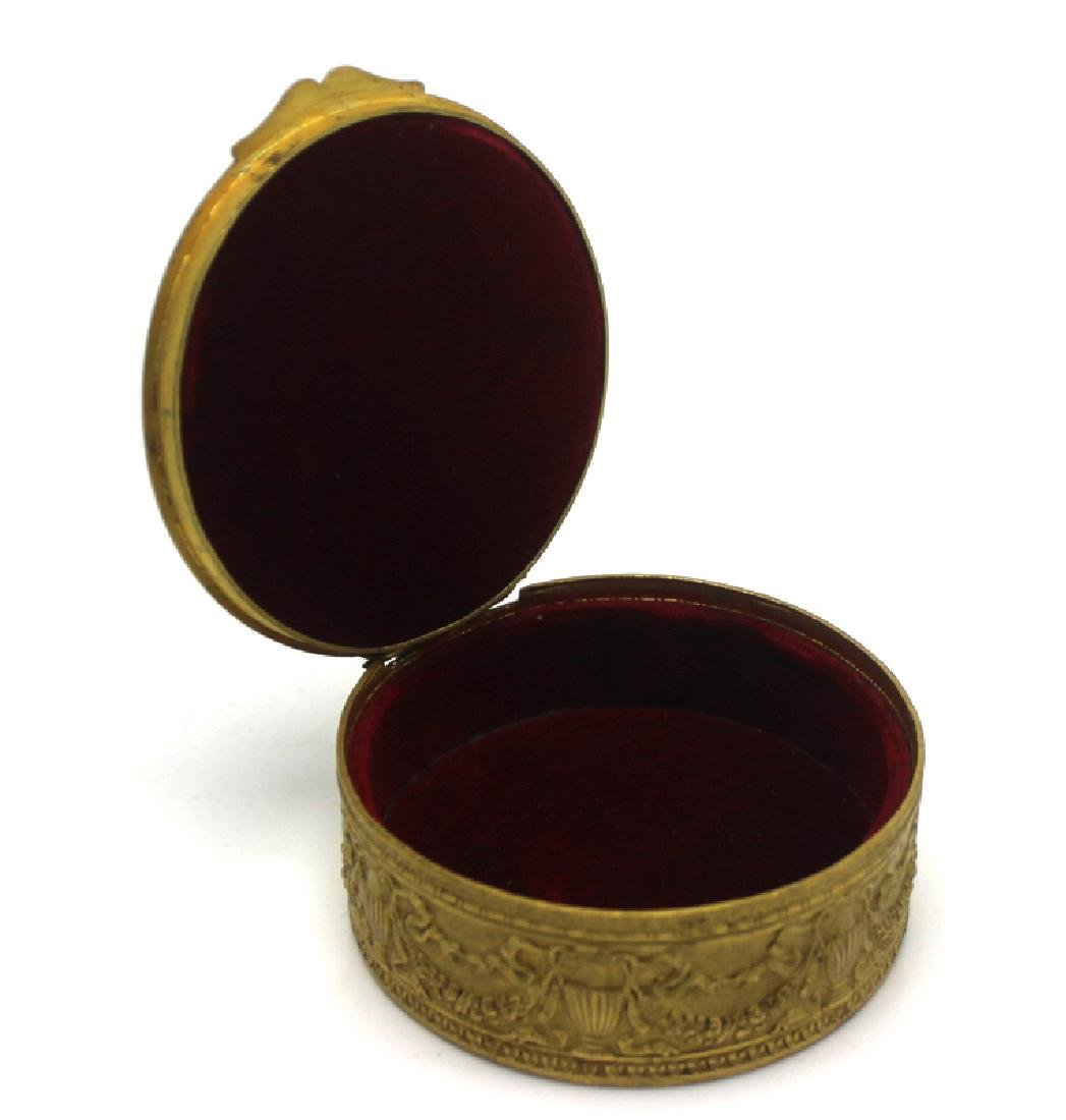 Antique Bronze Box with Miniature - 3