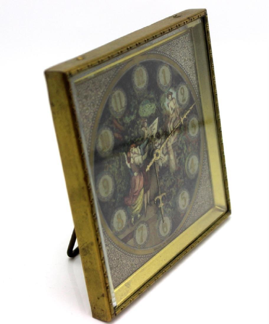Kienzle Clock Factory Bronze and Porcelain Desk Clock - 2