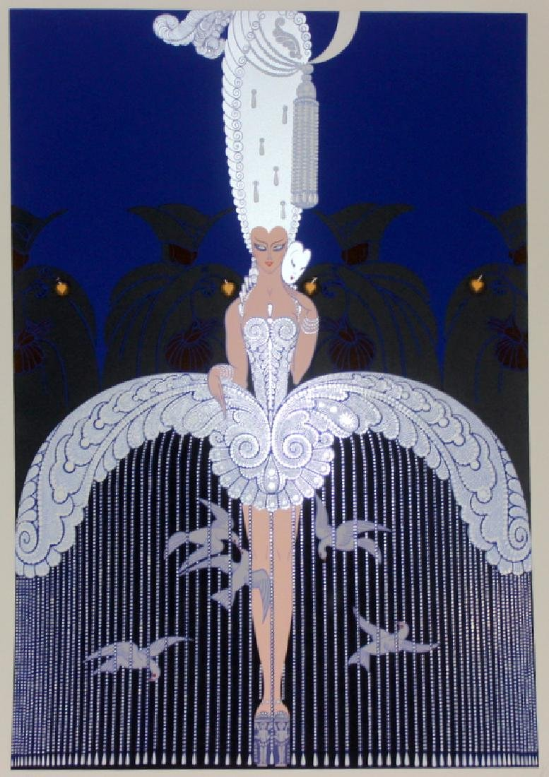 Erte (Russia b.1892- 1990) Signed Poster