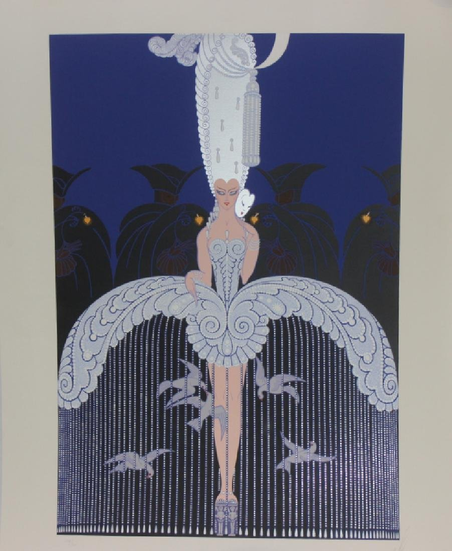 Erte (Russia b.1892- 1990) Signed Poster - 2