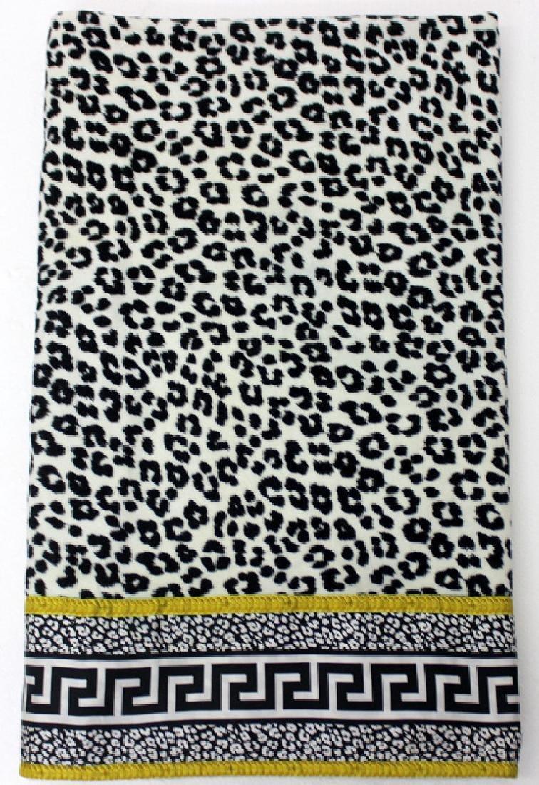 Gianni Versace Cheetah Print Towel