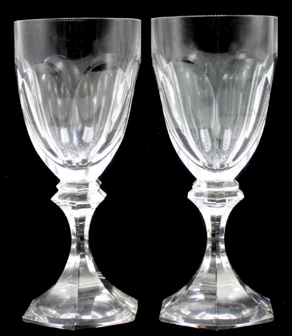 12 Piece St. Louis Crystal French Water Goblets