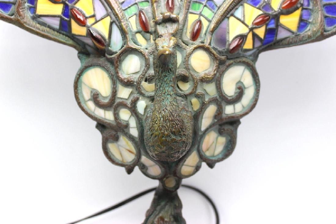 Stainless Peacock Lamp - 3