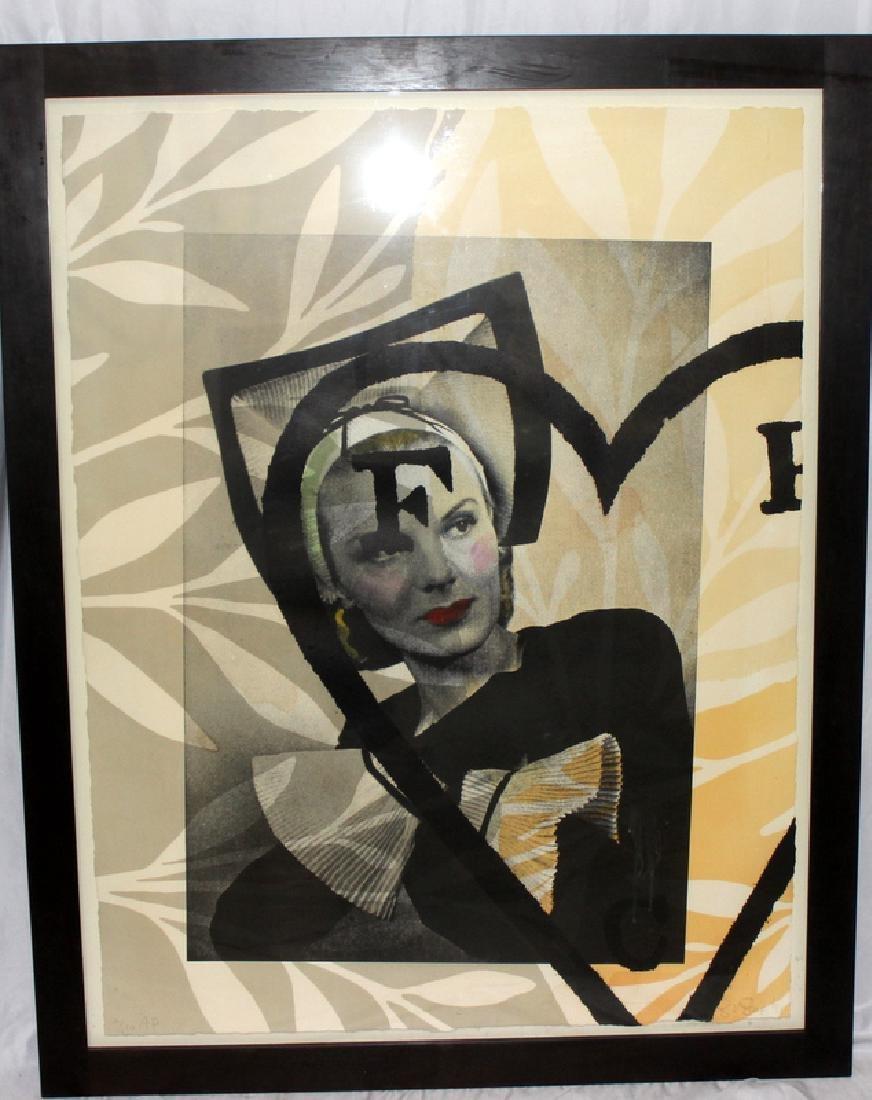 Lois Lane Untitled, 1991 Lithograph