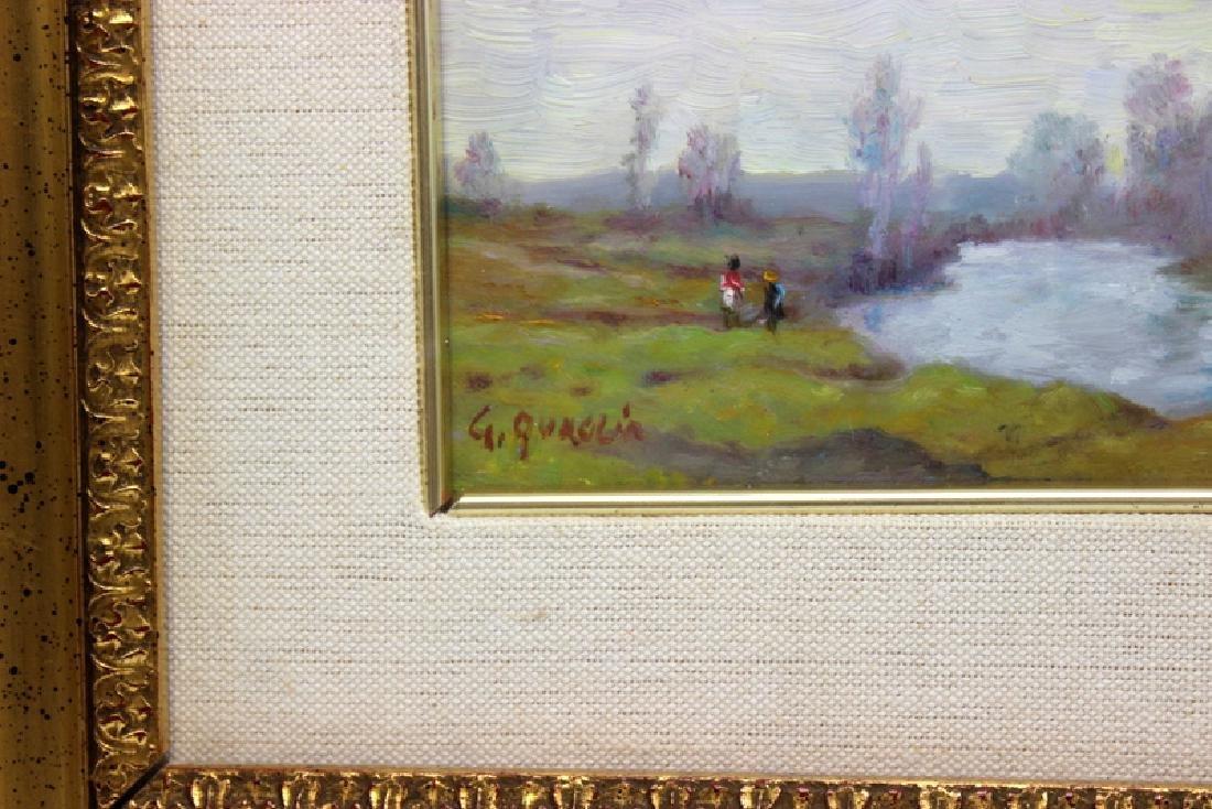 Giovanni Carlo Quaglia (Italian 1903-1970) Oil on Board - 3