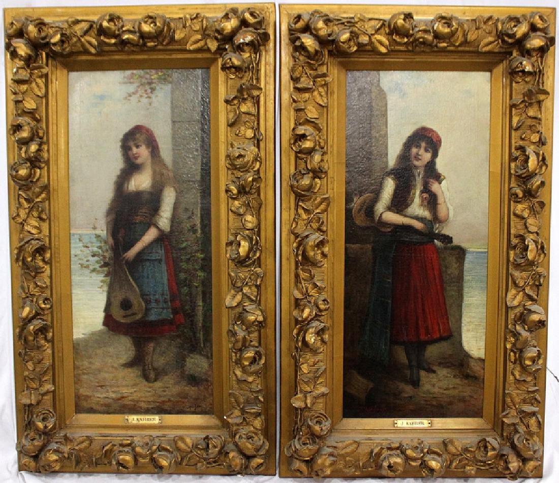 J. Kahrer Antique European Oil Paintings