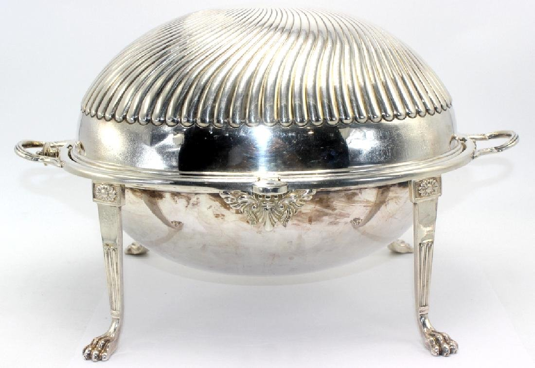 Antique English Silver Plated Covered Tureen