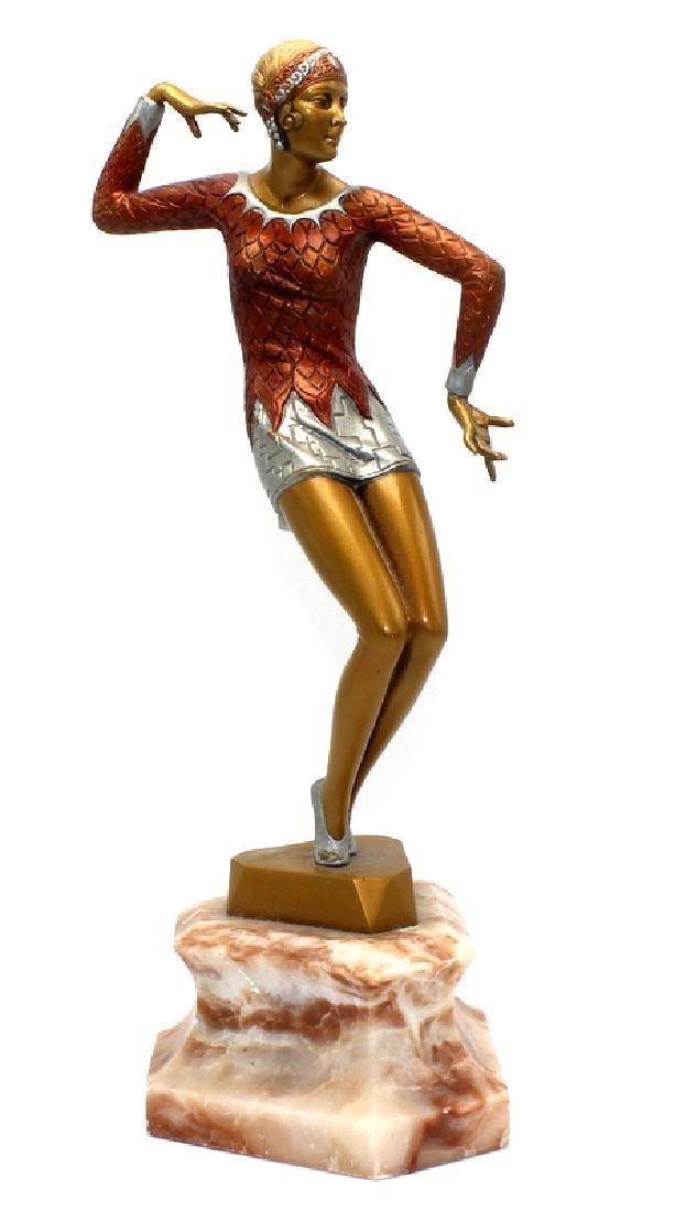 Johann Philipp Ferdinand Preiss Art Deco Bronze