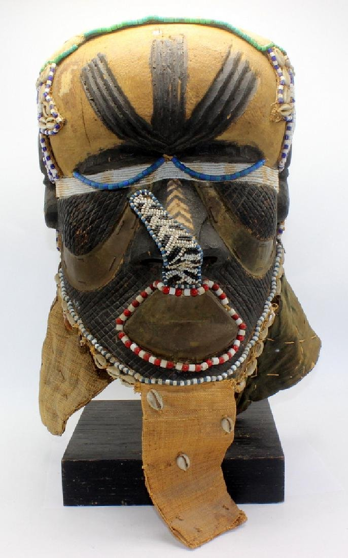 Antique Kuba Mask