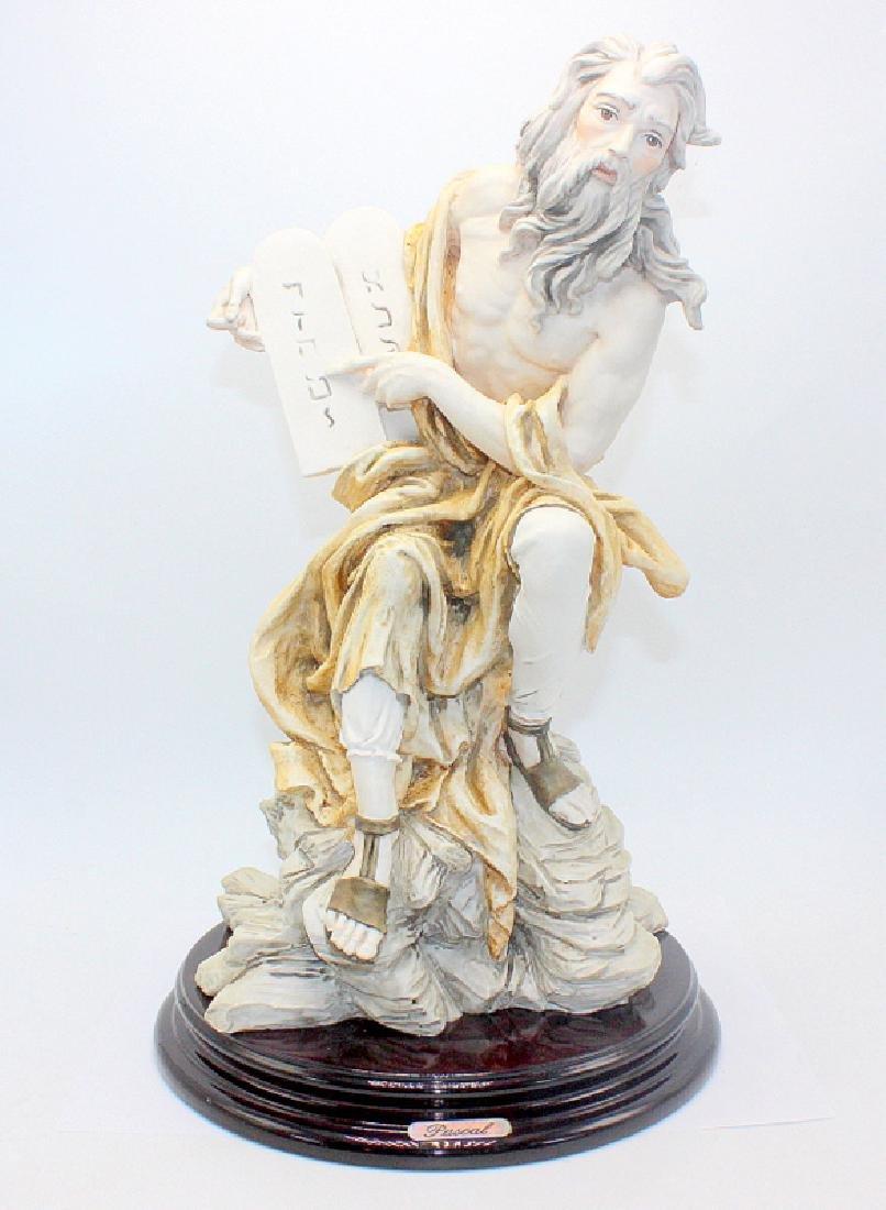 Moses Capodimonte Figure Signed Pascal