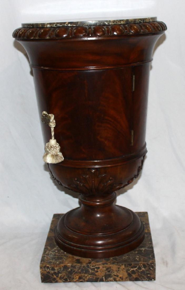 Maitland Smith Marble Top Pedestal