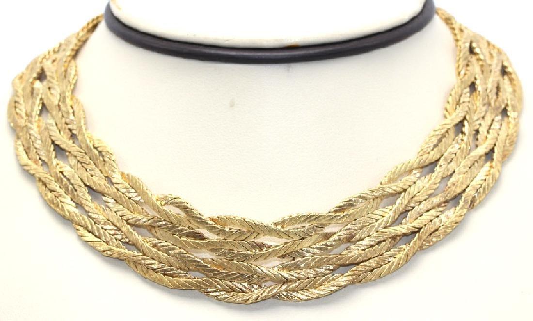 Mario Buccellati Yellow Gold Necklace