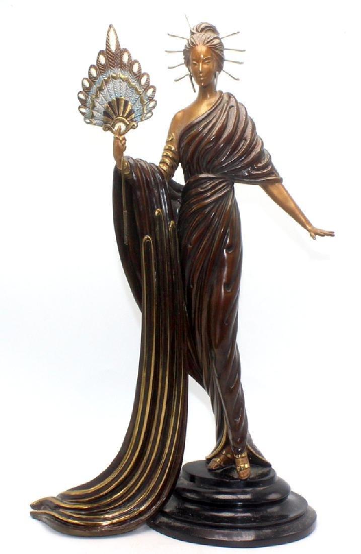 "Erte Bronze Sculpture ""Aphrodite"""
