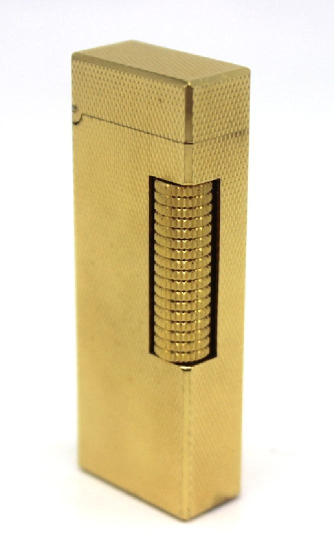 1970's Gold Plated Dunhill Lighter