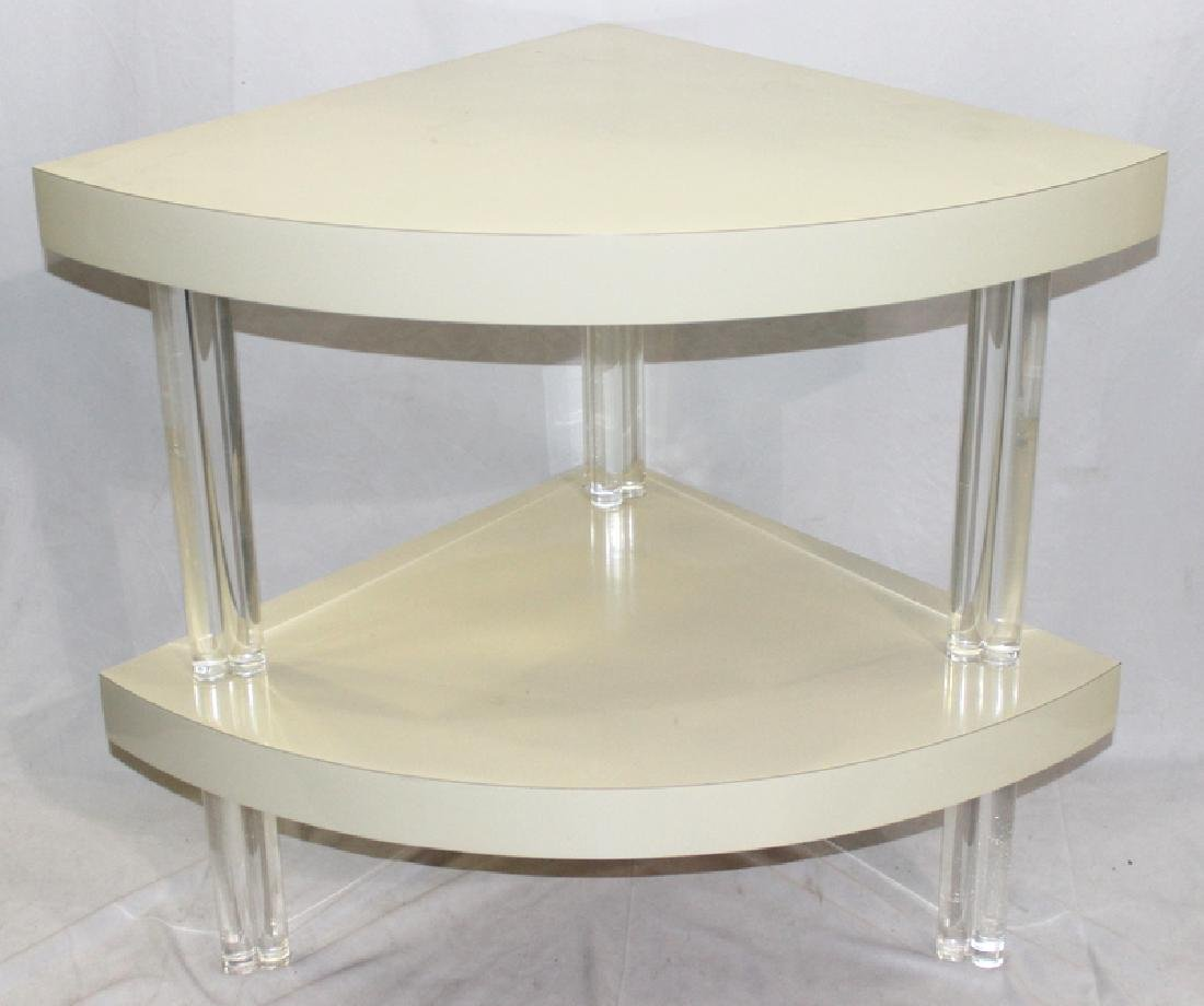 Carl Springer Lucite Table
