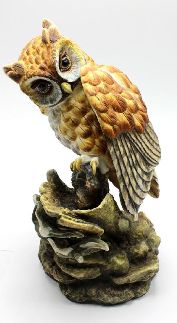 "Bohem ""Screech Owl"" Porcelain Figure"