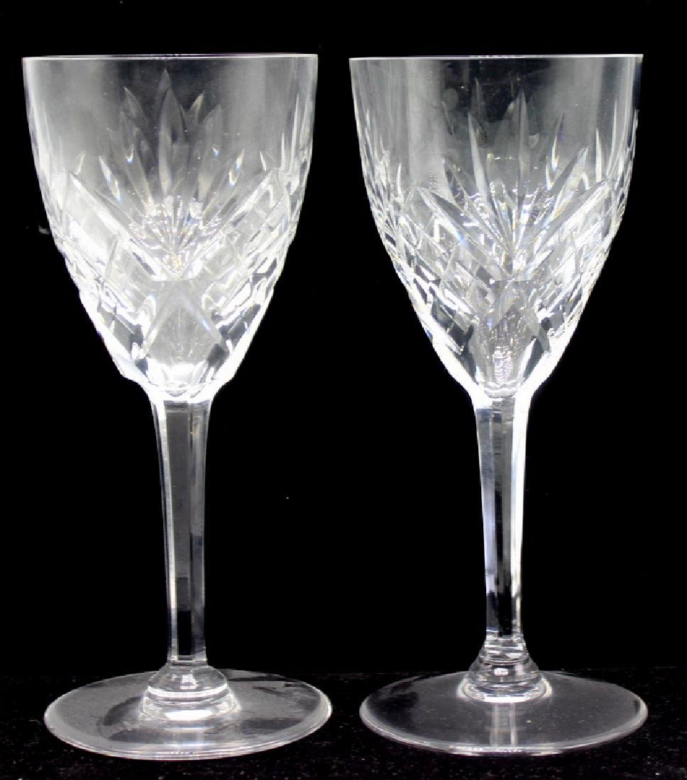 7 Pc. St. Louis France Crystal Chantilly Stemware