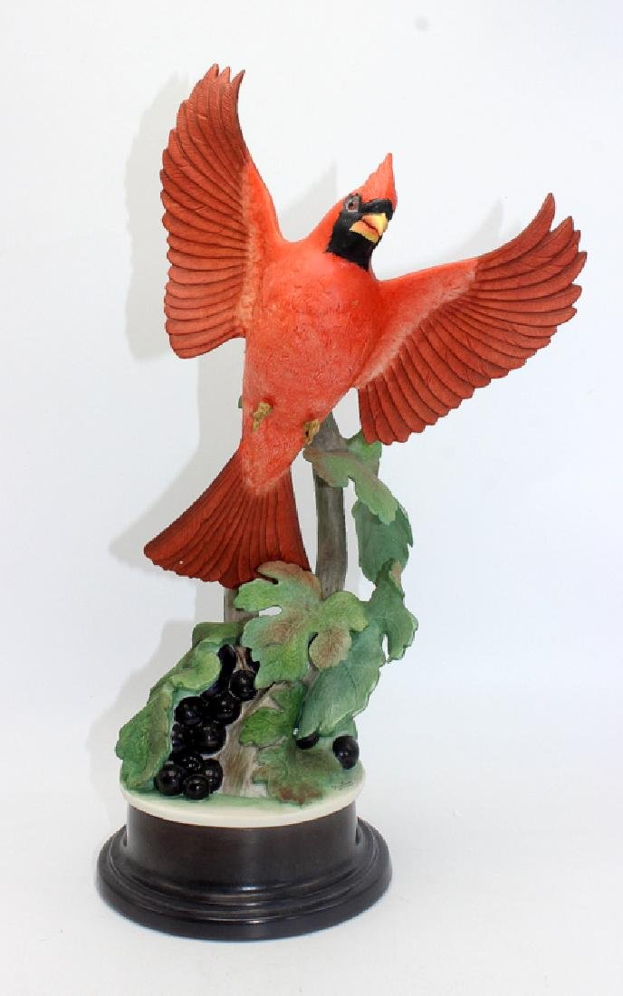 "Boehm ""Cardinal 415E"" Porcelain Figure"