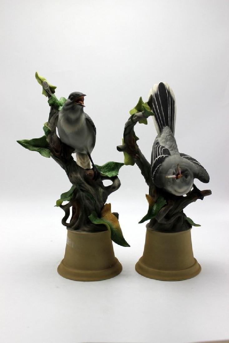 Pair of Boehm Mockingbirds Porcelain