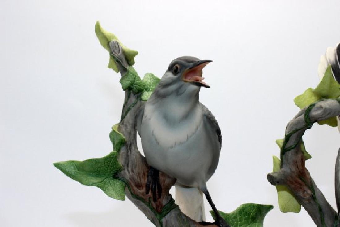 Pair of Boehm Mockingbirds Porcelain - 2