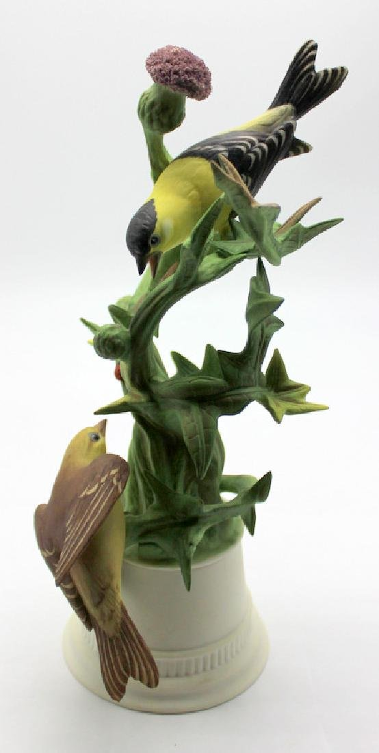 Boehm Gold Finches Signed #457