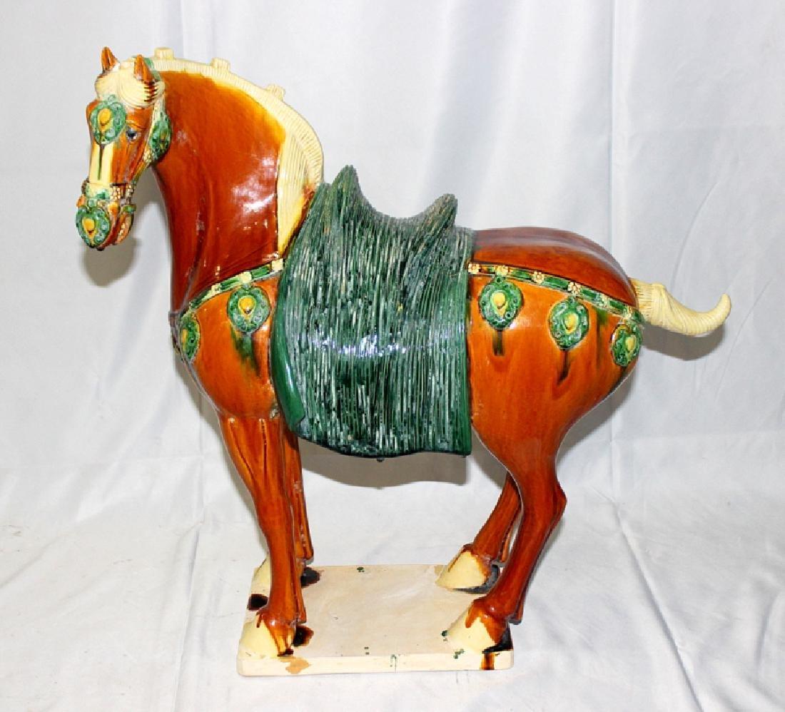 Chinese Sancai Horse