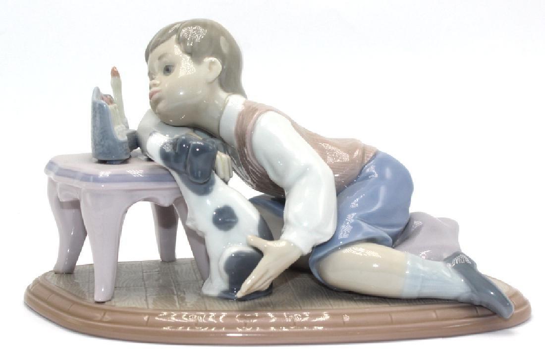 "Lladro ""Hanukah Lights #6027"" Porcelain Figure"