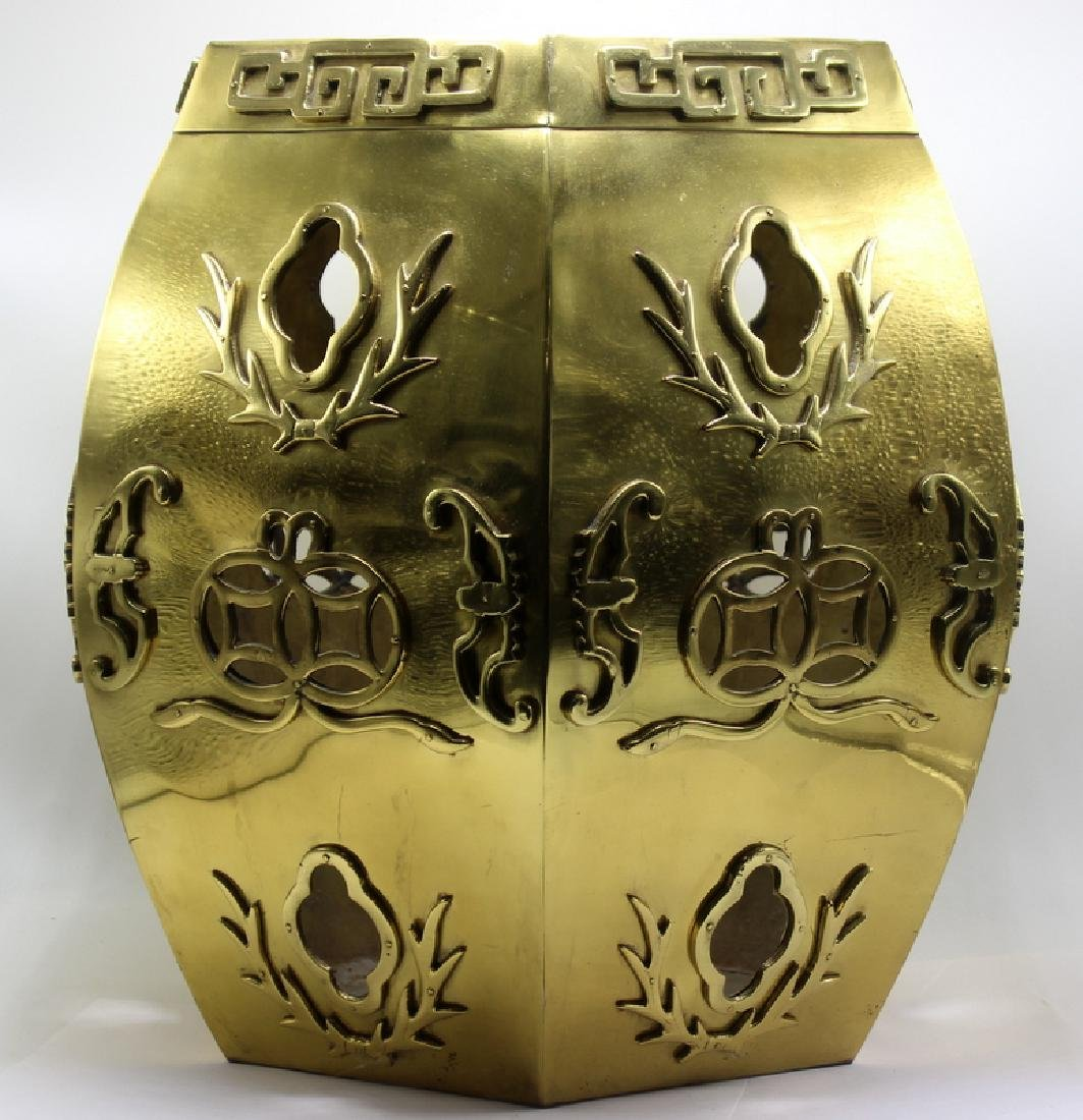 Oriental Brass Seat