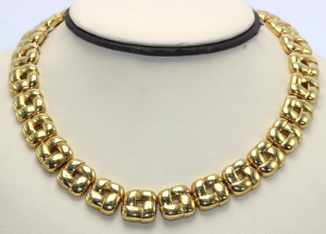 Contemporary Chaumet Gold Necklace