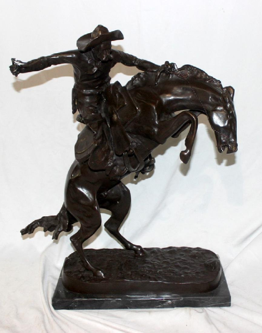 Frederic Remington Reproduction Bronze
