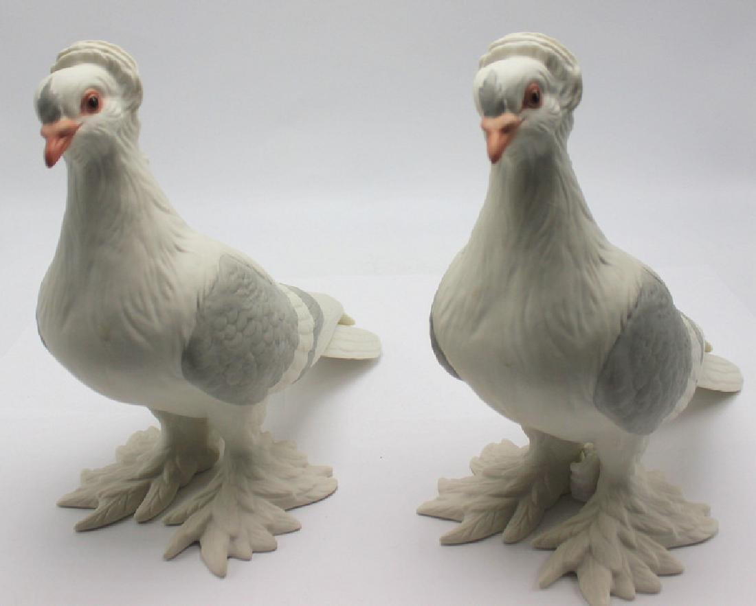 Boehm Biscuit Tumbler Pigeons